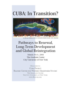 Cuba: In Transition?