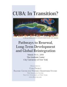 Cuba: In Transition?